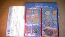 1991 Us Mint Uncirculated P & D Set with Reorder Card