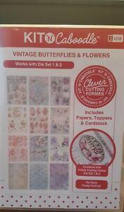Kit N Caboodle - Vintage Butterflies & Flowers USB