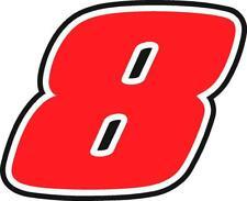 NEW FOR 2019 - #8 Smith, Burton, Truex, Gallagher, Preece Racing Sticker Decal