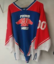 Adult XXL Hockey ATHLETIC KNIT Jersey flying wheels sweater practice <!>