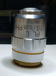 PL  L  Phase Microscope Objective  10x/0.25  PHP