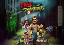 RAGE AGAINST THE ZOMBIES - Steam chiave key - Gioco PC Game Free shipping - ROW