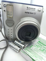 Fujifilm Instax MINI 10 Instant Film Camera with Film Pack Installed - SILVER