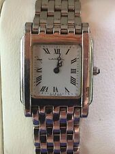 MONTRE FEMME LANCEL SWISS MADE QUARTZ 1983 ACIER INOX STYLE PANTHERE DE CARTIER