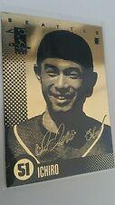 MERRICK LASER LINE GOLD CARD ICHIRO SEATTLE MARINERS & 10 Bonus Ichiro Cards!
