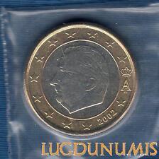 Belgique 2002 1 euro FDC provenant coffret BU 100000 exemplaires Belgium