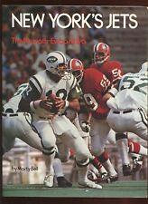 1973 New York Jets The Namath- Ewbank Era Jets EXMT