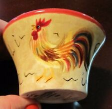 NWT Yankee Candle Rooster Rustic Country Tealight Holder