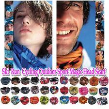 2x Magic Scarf Bandana Neck Warmer Head Wear Mask Balaclava Ski Bike Run Outdoor