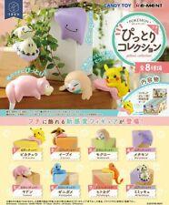 Re-Ment Miniature PokeMon Pikachu Pittori Collection Full Set of 8 pieces Rement