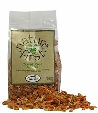 SMALL ANIMAL FEED - HAPPY PET NATURE FIRST CARROT ROOT NIBBLES