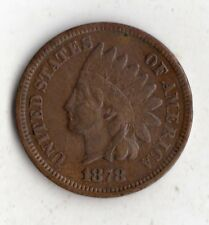 1878 INDIAN HEAD PENNY