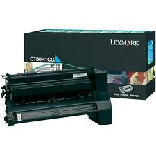 original Lexmark Cartouche d'encre C780A2CG C780A1CG cyan C780 C780N C782 X782 B