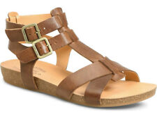 NIB Kork-Ease Doughty Gladiator Double Ankle Strap Leather Sandal Size 9 Brown