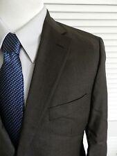 Hugo Boss Paolini/Movio Brown Striped Business Suit $795 42R