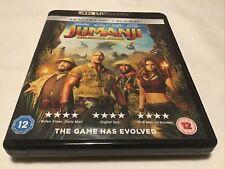 4k Ultra HD + Blu-Ray - Jumanji - Welcome To The Jungle - Pre Owned