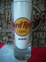 HRC Hard Rock Cafe Miami Shot Glass Shotglass Classic Logo New Style 2019