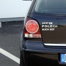 """VW POLO Aufkleber """"Juckt ihr Poloch auch so?"""" Fun Sticker 9N Volkswagen"""