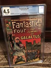 Fantastic Four 48 - CGC 4.5 White Pages! 1st Silver Surfer Classic Hot (xCBCS)