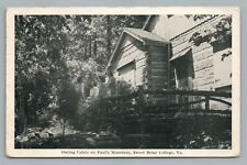Paul's Mountain Outing Cabin SWEET BRIAR COLLEGE Vintage Virginia 1946