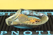 DON PATRON TEQUILA GLASS CIGARETTE ASHTRAY/ CHANGE DISH 750 BOTTLE