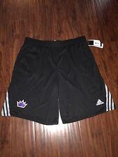 Adidas Kings Knit NBA Shorts~BLACK~NWT~ A40523~~XLARGE