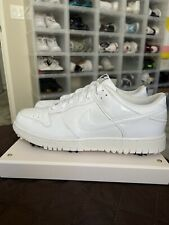 """Nike NG Golf """"Triple White"""" Golf Shoe Men's Size 11.5   484294-104 Released 2012"""