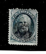 US Stamp- Scott # 185/A55-5c-Cancel/VLH-1879-NG- Perf. 12-No Grill