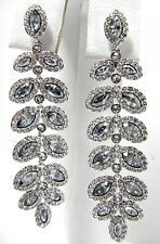 Baron Crystal Pierced Earrings 2014 Swarovski Jewelry #5074350