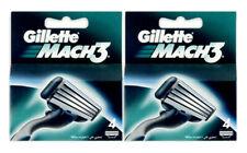 8 x Gillette MACH3 Razor Cartridges Blades Refills Made in Germany
