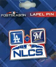 Brewers vs Dodgers 2018 NLCS Pin Los Angeles Milwaukee L.A. NL playoffs PSG