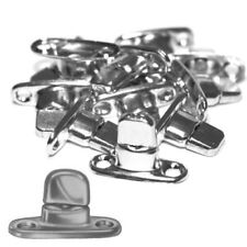 10 Stück Drehverschluss Schwenkriegel Ovalösen Anhänger Plane Boot Planenhaken