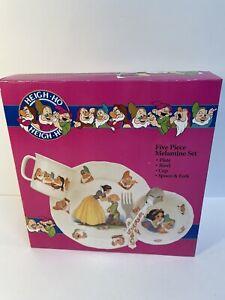 Disney SNOW WHITE AND THE SEVEN DWARFS 6 Piece Melamine Dish Set by Selandia