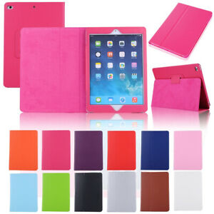 "For Apple iPad 5th 6th 9.7"" Smart Sleep Leather Stand Magnetic Flip Case Cover"