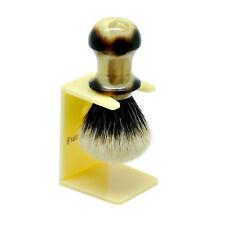 FS 100% Finest Badger Hair Shaving Brush Faux Horn Series Skinny Brush22mm Kont