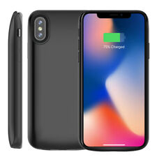 6000mAh For iPhone XS Max Portable Power Bank Pack Magnet Battery Charging Case