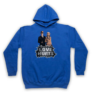 BONNIE & CLYDE FILM LOVE HURTS UNOFFICIAL ICONIC CRIME ADULTS UNISEX HOODIE