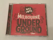 One Love - Presents Melbourne Underground (15 Track CD)