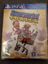 New listing Supermarket Shriek PlayStation 4 new & sealed