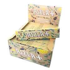 RIZLA NATURA Kingsize Slim Rolling Papers Premium Natural Organic Rizzla Hemp