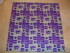 Kansas State University Wildcats  Fabric Bandana Dog
