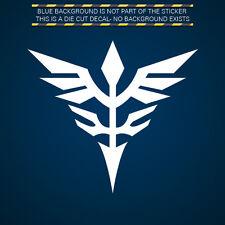 (2x) Neo Zeon Insignia Sticker Die Cut Decal Self Adhesive Vinyl Gundam Unicorn