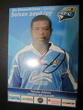 1412 Chemnitzer FC CFC Yakubu Adamu 2006 - 2007 original signierte AK