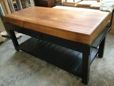 SIDE GRAIN BUTCHERS BLOCK -20YRS EXP island bench  AS SEEN ON MASTERCHEF