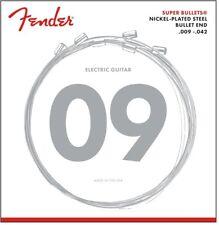 Fender 3250 Light 9-42 Gauge Super Bullets.Industry Standard ! Part:073-3250-403