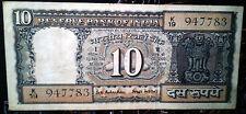 10 RUPEES MAHATMA GANDHI READING BOOK 1970 SIGNED GOVERNOR B.N.ADARKAR, D-13.
