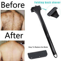 Back Hair Shaver Body Trimmer Removal Razor Sharp Large Blade DIY Groomer Men