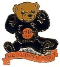 Hard Rock Cafe OSAKA 2000 HALLOWEEN PIN Teddy Bear CAT Suit - HRC Catalog #7135