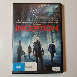 Inception   DVD Movie   Leonardo DiCaprio, Joseph Gordon-Levitt, Tom Hardy   PAL