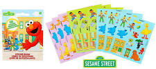 Sesame Street Party Supplies Favours STICKER BOOK 9 Pages